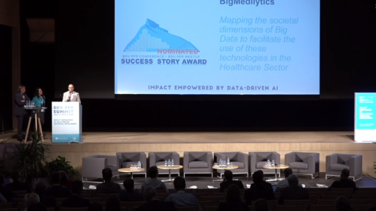 The BigMedilytics project nominated in the BDVe Success Story Award Contest